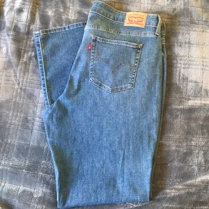 Brand New Levi Straight leg jeans 18W